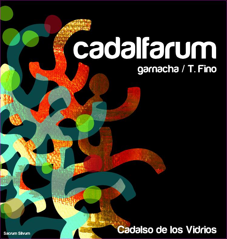 Etiqueta vino Cadalfarum