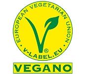 logo sello vegano de V-Label